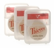 Young Living Thieves Dental Floss 131 ft - 3 Packets