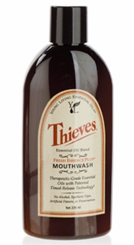 Young Living Thieves Fresh Essence Plus Mouthwash v.3 - 8 Ounces