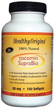 Tocomin SupraBio 50mg by Healthy Origins - 150 Softgels