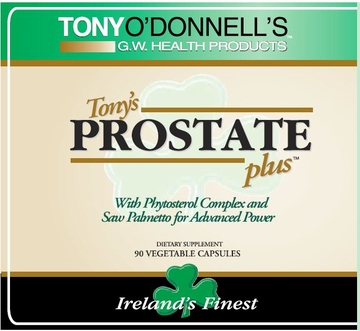 Tony O'Donnell's Prostate Plus by GW Health Products LLC - 90 Vegetable Capsules