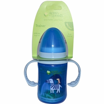 Trainer Bottle Stage 3 Plus Blue by Green Sprouts - 8oz.