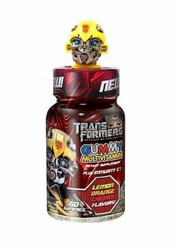 Health Science Labs Transformer Kids Gummy Multivitamins Yellow Top - 60 Counts