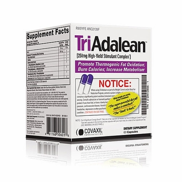 TriAdalean by Covaxil Labs - 60 Capsules