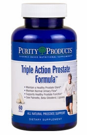 Triple Action Prostate Formula by Purity Products - 60 capsules