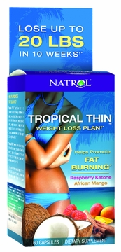 Tropical Thin by Natrol - 60 Capsules