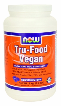 Now Foods Tru-Food Vegan (Berry Flavor) - 2.2 Pounds