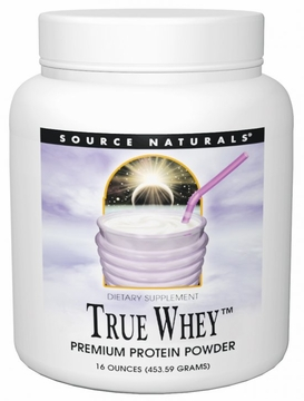 Source Naturals True Whey Premium Protein Powder - 16 Ounces
