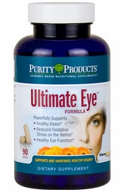 Ultimate Eye Formula by Purity Products - 90 Capsules