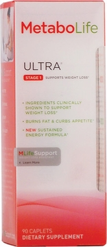 Twinlab Metabolife Ultra Stage 1 - 90 Caplets