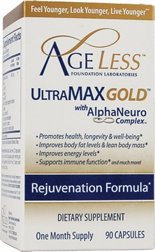 Ageless Foundation Ultramax Gold - 90 Capsules