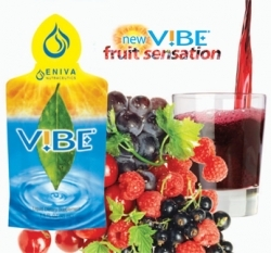 Vibe Fruit Sensation Single Serving Packets by Eniva - 20ct (1oz Packets)