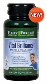 Vital Brilliance Energy & Endurance with Rhodiola Rosea by Purity Products - 60 Capsules