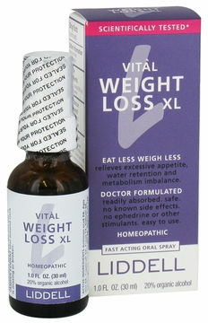 Liddell Vital Weight Loss XL Oral Spray - 1 Ounce