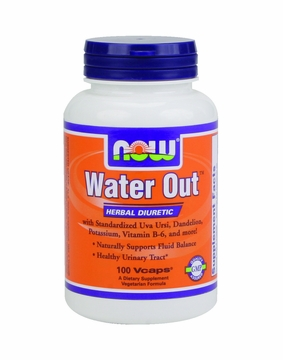 Now Foods Water Out - 100 Vegetarian Capsules
