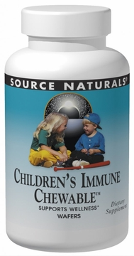 Source Naturals Wellness Children??s Immune Chewable - 120 Wafers