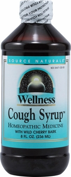Source Naturals Wellness Cough Syrup - 8 Fluid Ounces