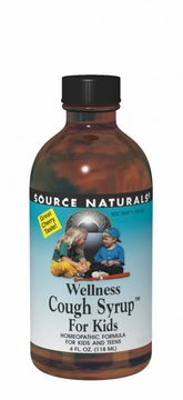 Source Naturals Wellness Cough Syrup for Kids - 4 Fluid Ounces