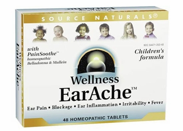 Source Naturals Wellness Earache Bio-Aligned Formula - 48 Tablets