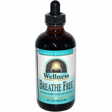 Source Naturals Wellness Breathe Free Syrup - 8 Fluid Ounces