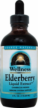 Source Naturals Wellness Elderberry Liquid Extract - 4 Fluid Ounces