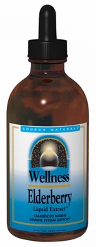 Source Naturals Wellness Elderberry Liquid Extract - 8 Fluid Ounces