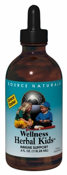 Source Naturals Wellness Herbal Kids Liquid - 4 Fluid Ounces
