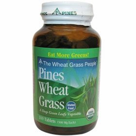 Pines International Wheat Grass Tabs 500 mg - 100 Tablets