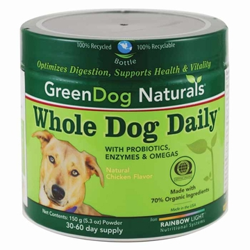 Green Dog Naturals Whole Dog Daily Powder - 150 Grams