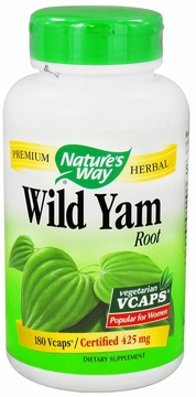 Wild Yam Root by Nature's Way - 180 Vegetarian Capsules