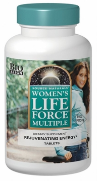 Source Naturals Women's Life Force Multiple without Iron - 180 Tablets