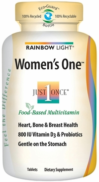 Rainbow Light Women's One Multivitamin - 90 Tablets