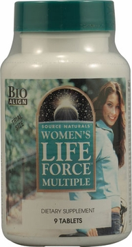 Source Naturals Women??s Life Force Multiple Trial Size - 9 Tablets