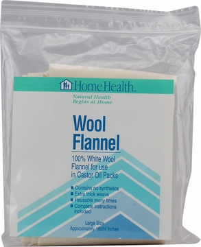 "Wool Flannel Large Size 18"" x 24"" by Home Health - 1 Cloth"