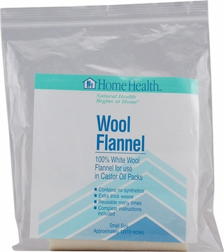 "Wool Flannel Large Small 12"" x 18"" by Home Health - 1 Cloth"
