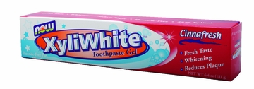Now Foods XyliWhite Cinnafresh Toothpaste Gel - 6.4 Ounces