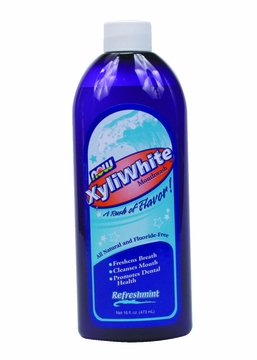Now Foods XyliWhite Refreshmint Mouthwash - 16 Fluid Ounces