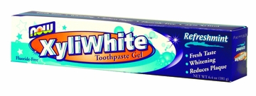 Now Foods XyliWhite Refreshmint Toothpaste Gel - 6.4 Ounces