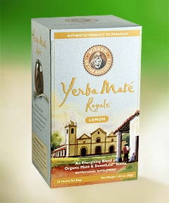 Wisdom Natural Organic Yerba Mate Royale Tea Lemon - 25 Tea Bags