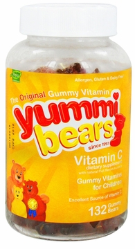 Yummi Bears Children's Vitamin C by Hero Nutritional Products - 132 Gummies