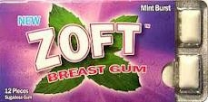 Zoft Breast Enhancement Gum by Zoft Gum Company - 12 pieces