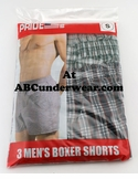 3Pk Men's Boxer Shorts