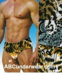 Animal Print Bikini Underwear 3 PK