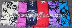 Aquatic Theme Sarong - Men - Women