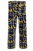 Batman Plaid Knit Pant