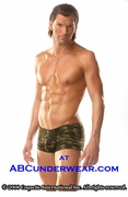 Camo Low Rise Boxer Brief by Zakk - Clearance