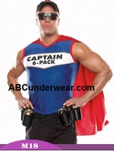 Captain 6 Pack Halloween Costume