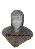 Chain Mail Metal Headpiece