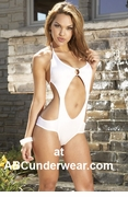 Coquette Bathing Suit with Ring