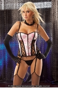Corset Front Lace Up & G-String