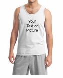 Custom Print Men's Tank Top